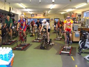 Spinzone rides Wednesdays at 6pm, and ProForm rides Tuesdays at 6pm