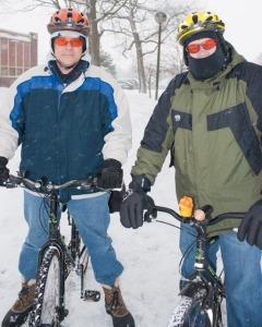 Matt Mooney, not deterred, still biking!